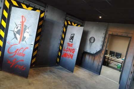 Escape game entrée